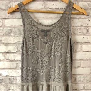 Teen vogue Lace maxi dress